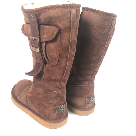 49f0fb17bf1 UGG Cargo II Espresso Brown winter boots s/n 5195